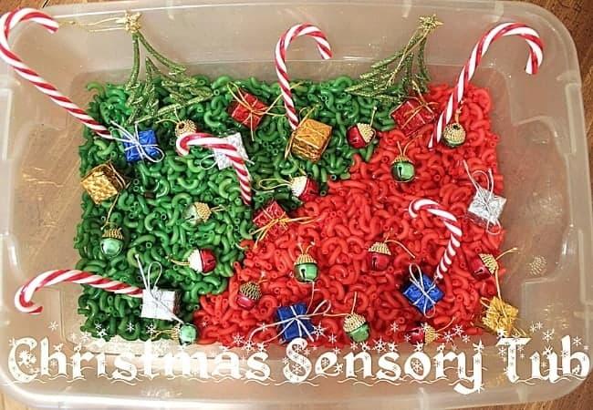Teaching-mama-christmas-sensory-tub