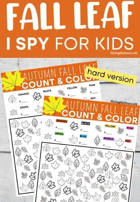 Toddler Fall Leaves Activity