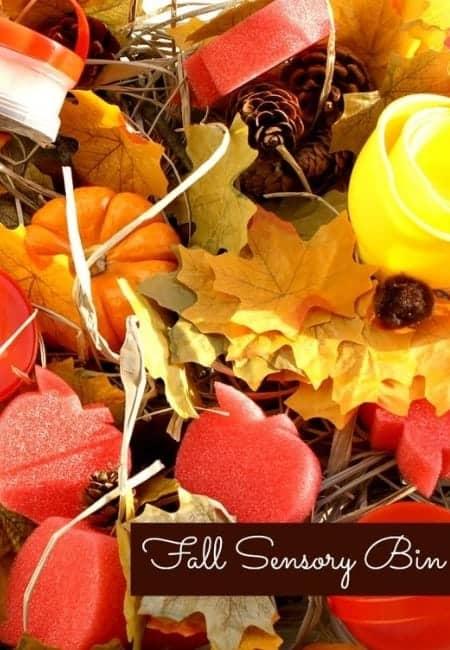 fantastic fun and learning fall bin