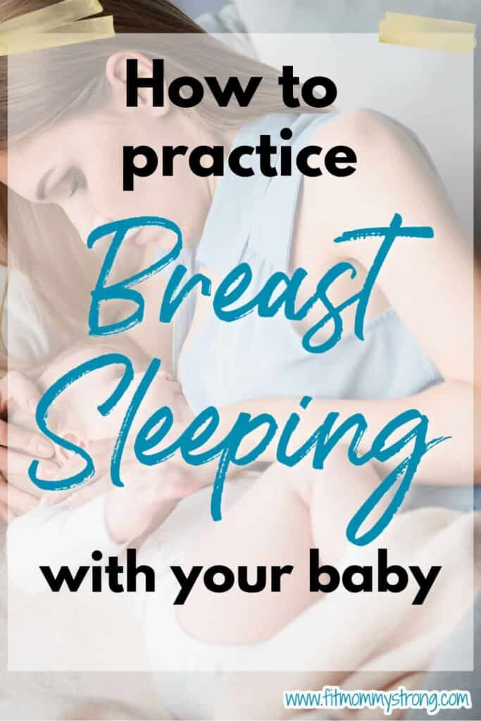 how to practice breastsleeping with baby
