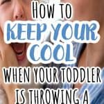 How to be a CALM MOM when your toddler throwing tantrums