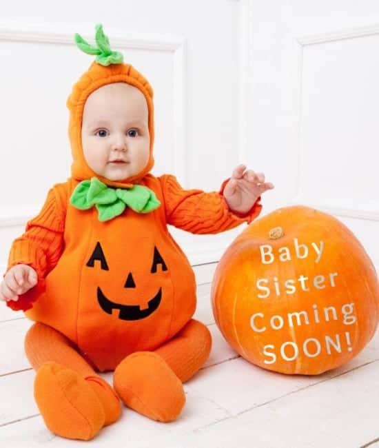 2 little pumpkins
