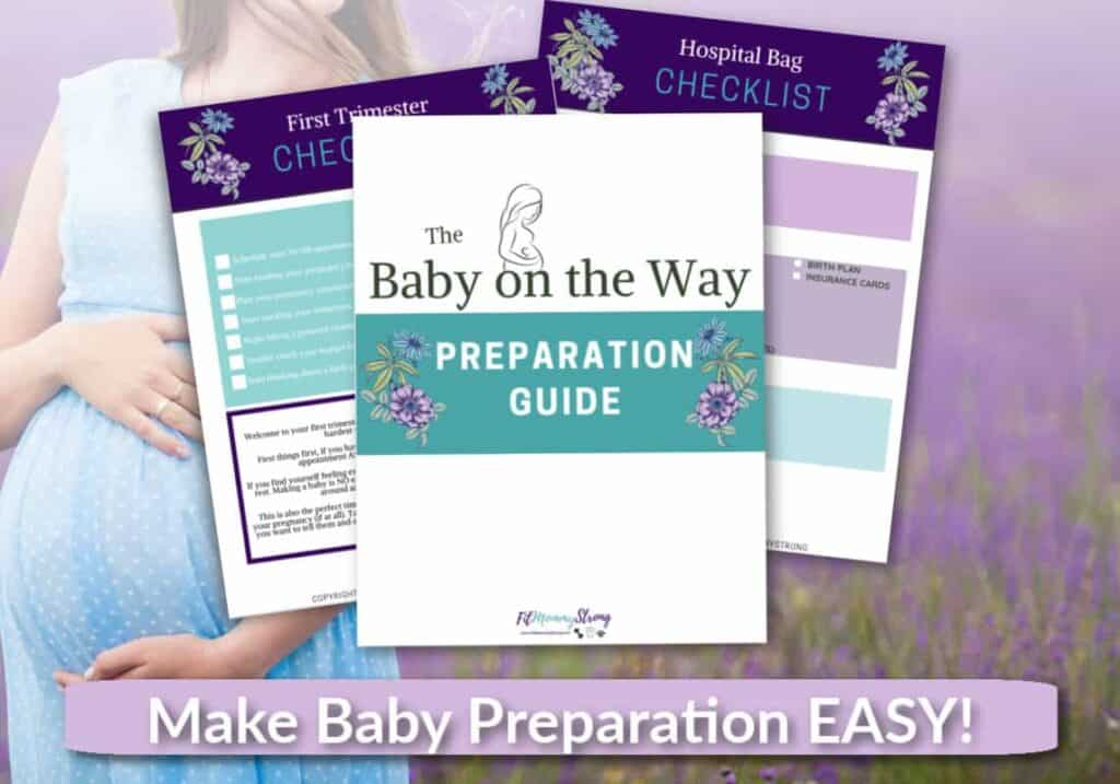 baby preparation FREE guide