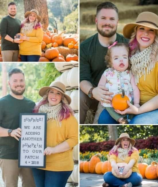 Little Fall Pregnancy Announcement by Stephanie Wolfe