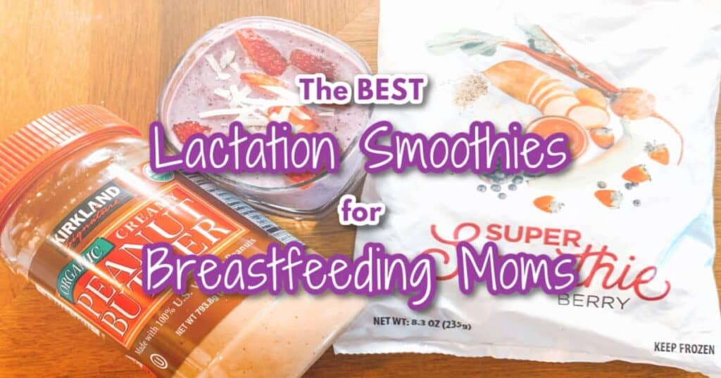 Lactation Smoothies for Breastfeeding