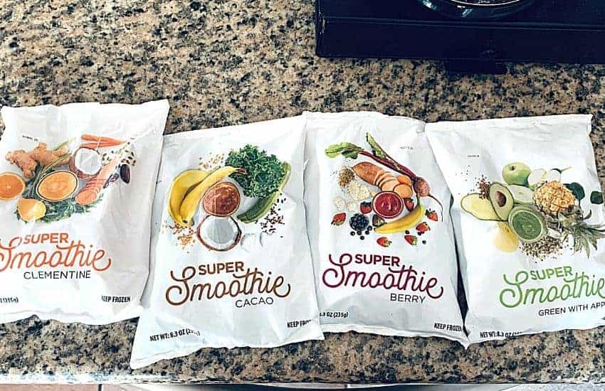Smoothiebox flavors