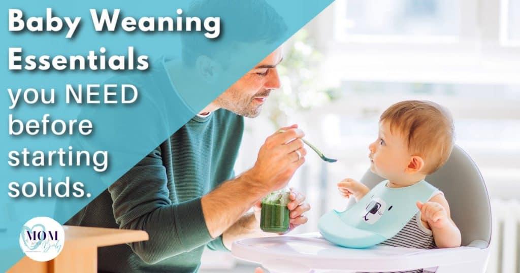 baby eating pureed food