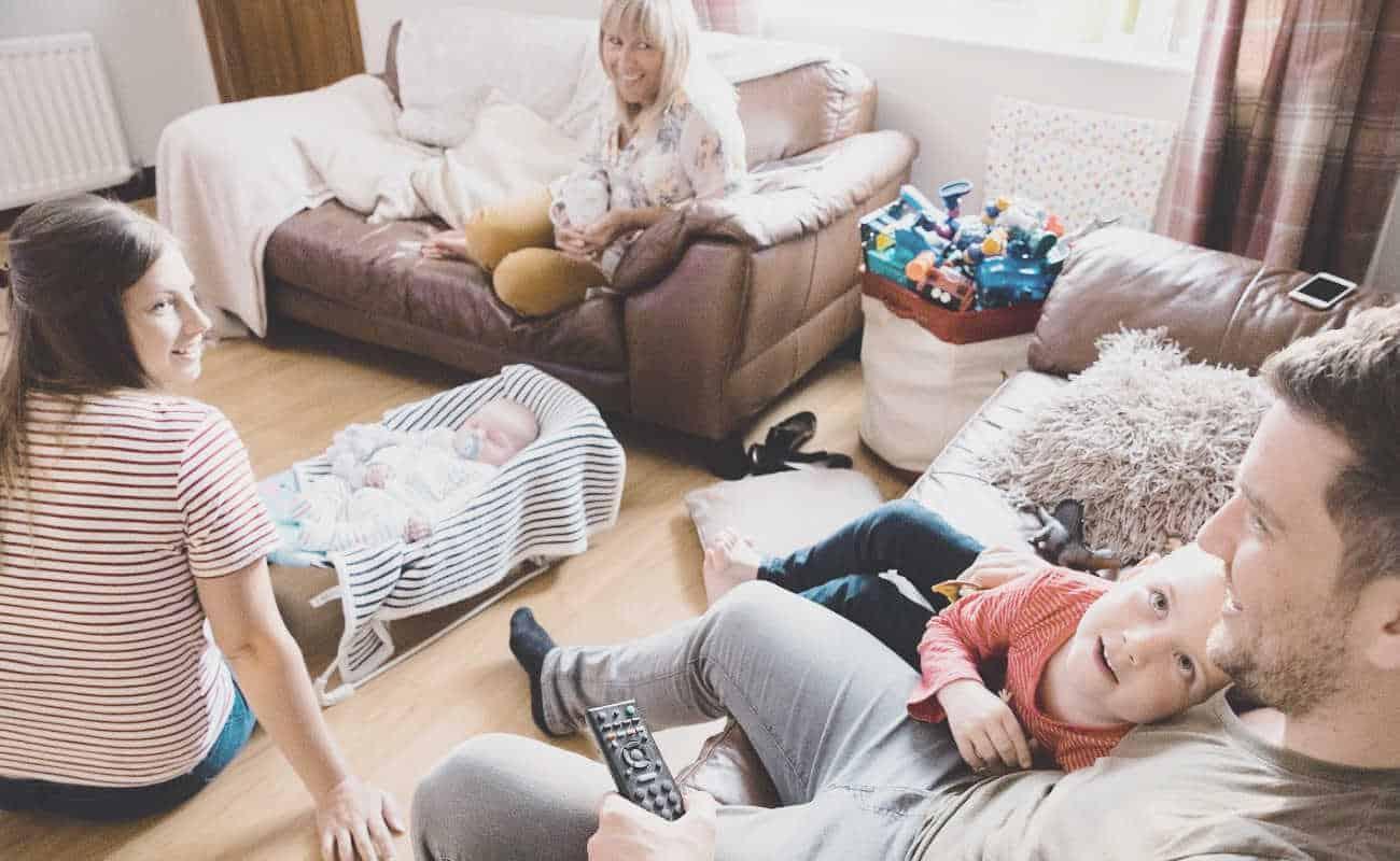 newborn visitors