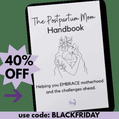 postpartum handbook black friday sale