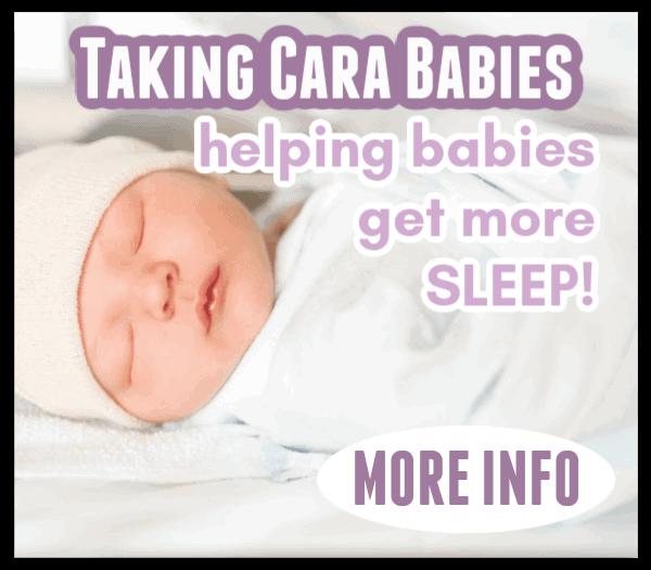 taking cara babies sleep course
