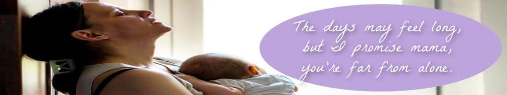 postpartum planner banner