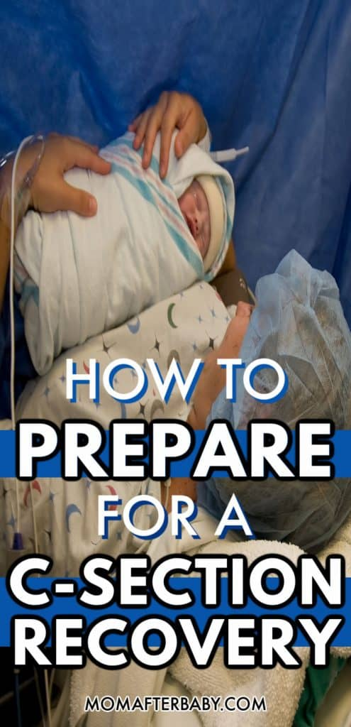 How to prepare for a C-Section with a Recovery Kit