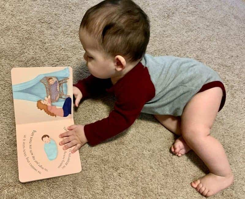 baby reading the lovely haze of baby days