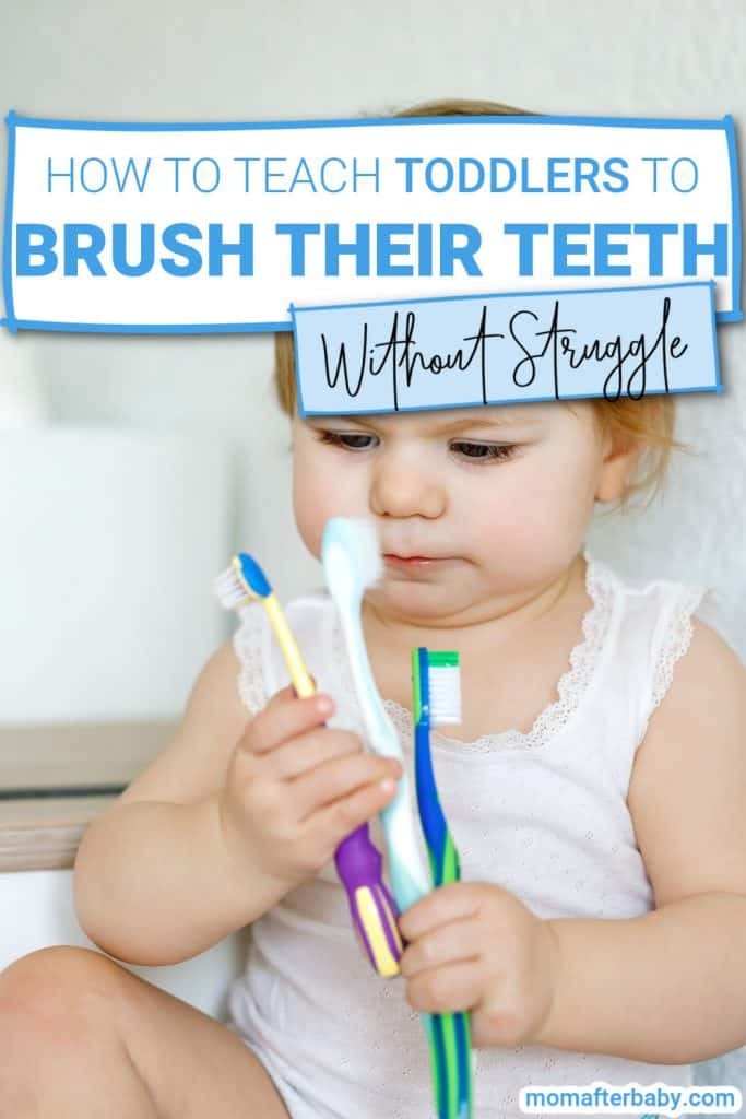 EASY ways to teach toddlers how to brush their teeth