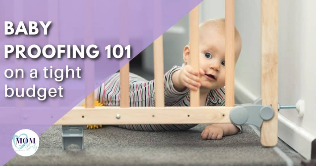 baby proofing on a budget