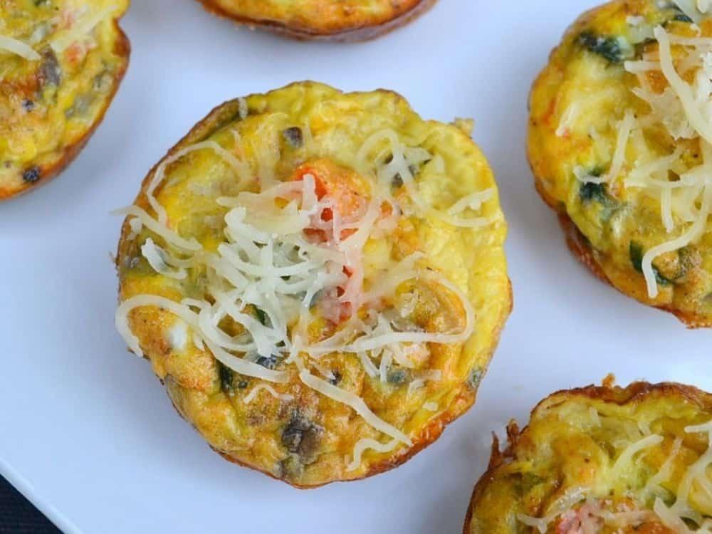 easy breakfast egg muffins