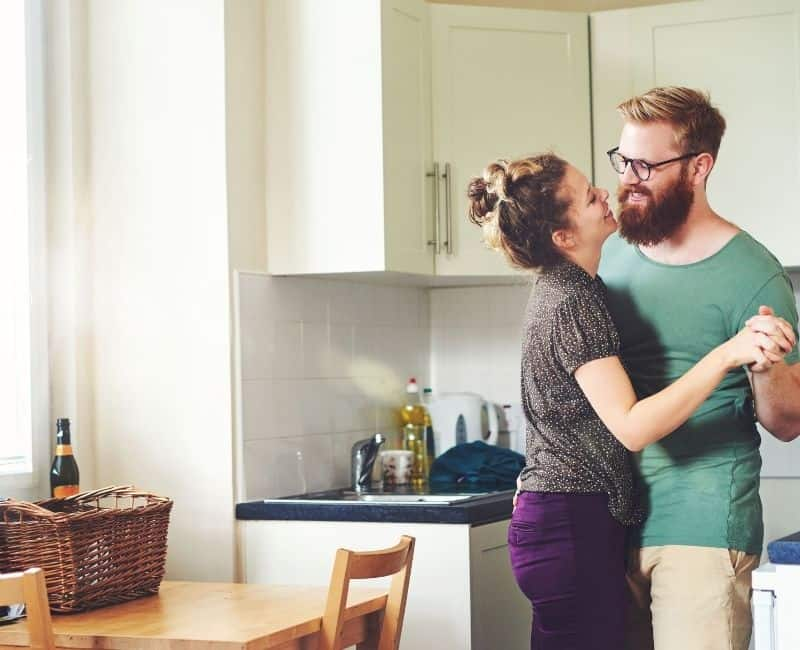 mom and dad dancing - Self Care Ideas for Moms