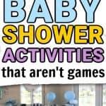 10 Baby shower activities that aren't games