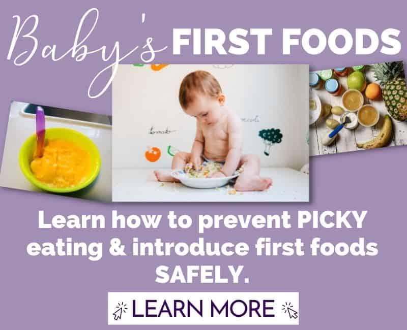 babys first foods class