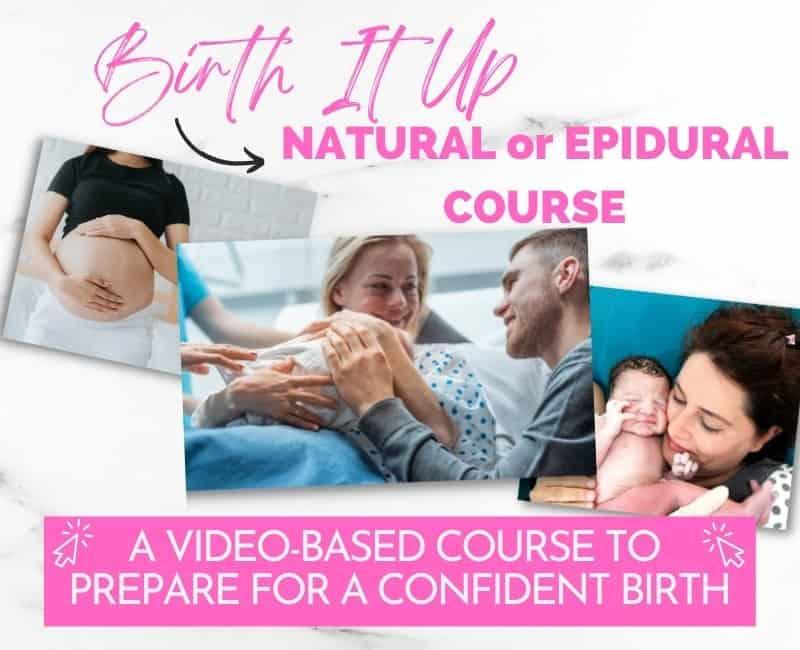 birth it up online birth class
