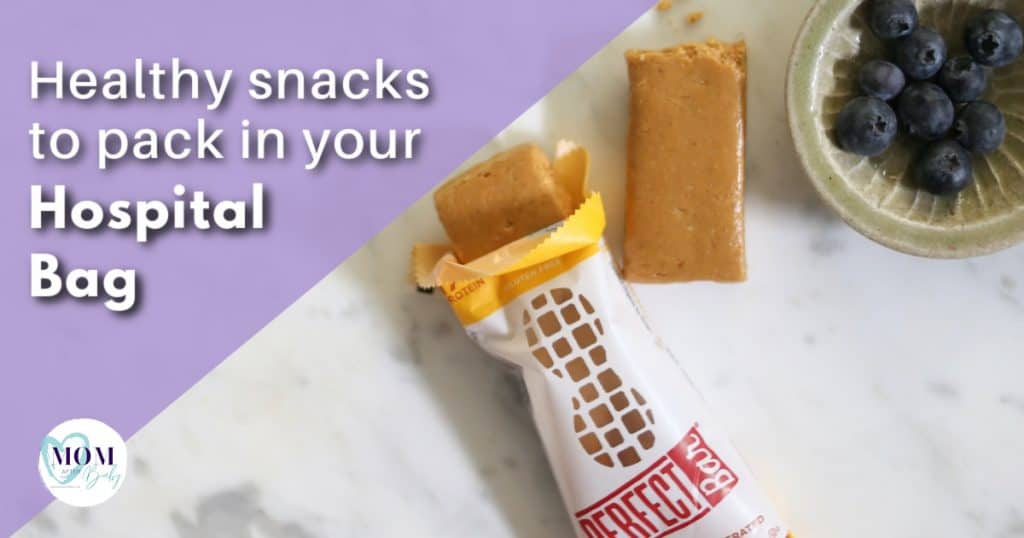 healthy snacks to pack in hospital bag