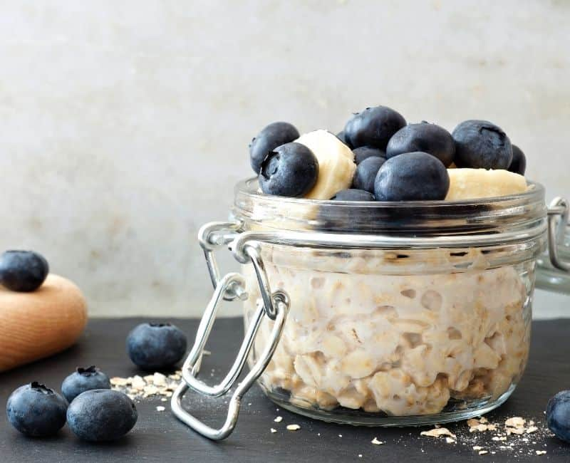 overnight oats recipe - mom after baby
