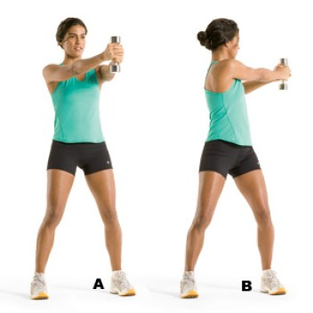Image result for Standing Trunk Twist: