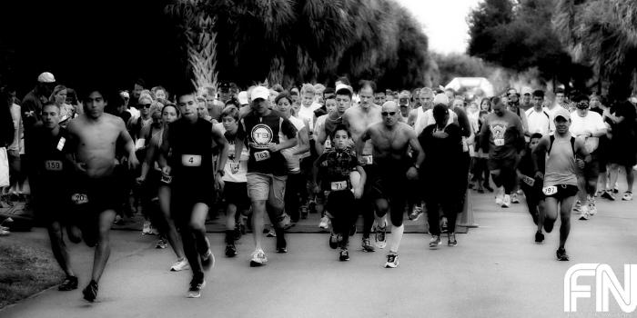 race starting line