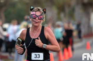 cat woman running