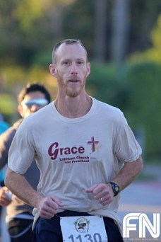 christian male runner