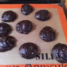 dark chocolate cookie sheet