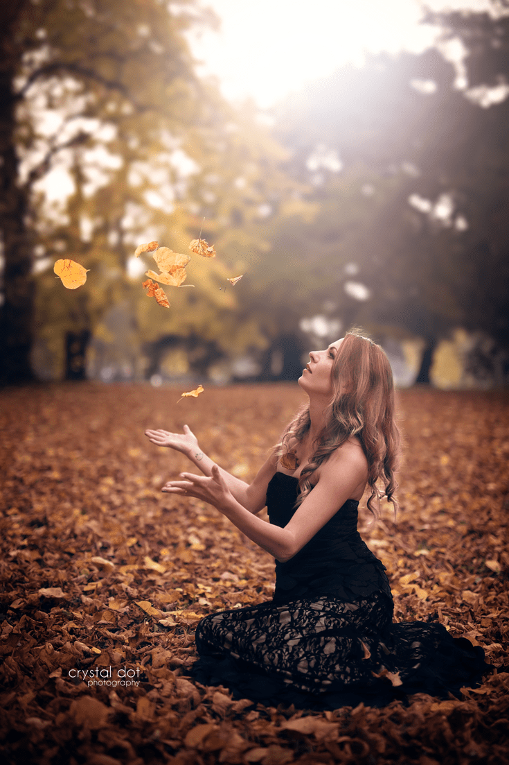 Fall Photoshoot (Crystal Dot Photography)