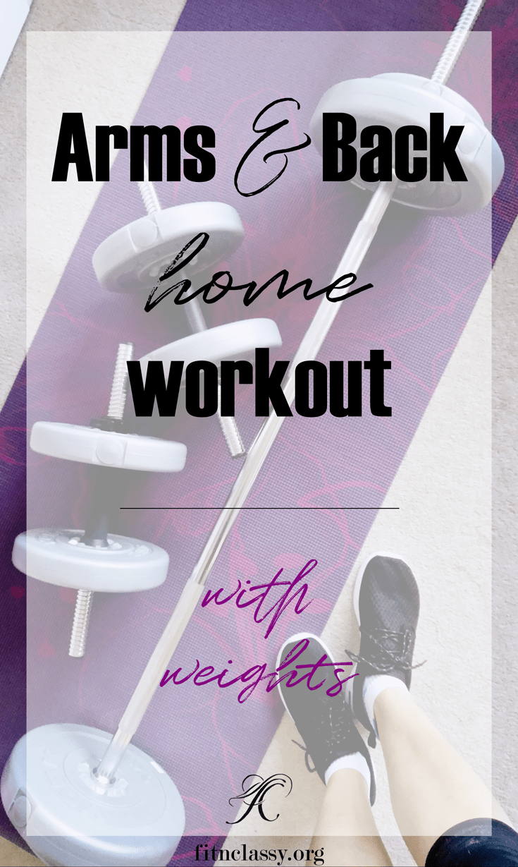 Back To Weights - Arms and Back Workout