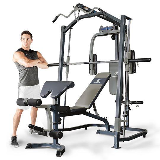 SMITH MACHINE : Machine de musculation multifonction ...