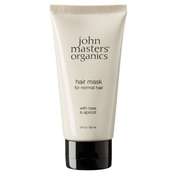 John Masters Organics Hair Mask With Rose & Apricot 60 ml