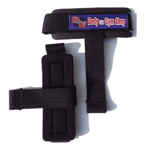Body & Gym Shop - Wrist Straps (Met Pin)