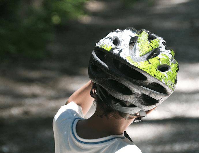 Aanbod fietshelmen