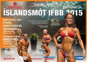Íslandsmót IFBB í fitness 2015
