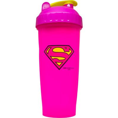 بروتين شيكر سوبرمان الوردي