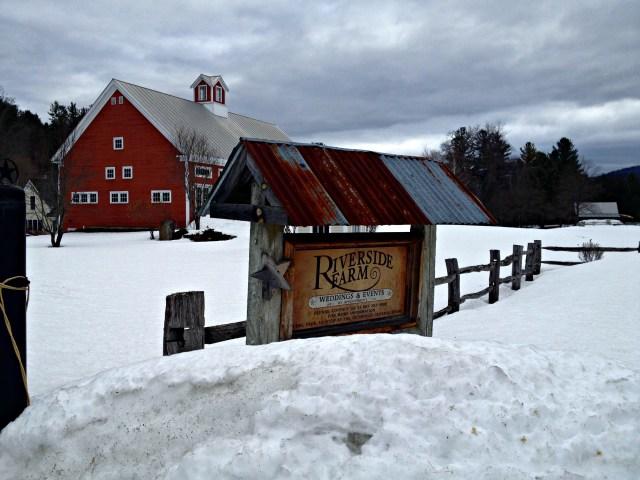 Riverside Farm: Red Barn
