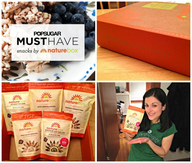 PopSugar Must Have Snacks by Nature Box