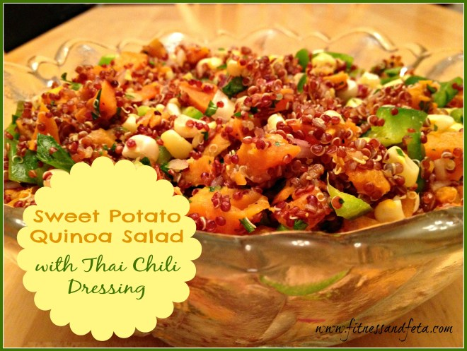 Sweet Potato Quinoa with Thai Chili Dressing – Achieve with Athena