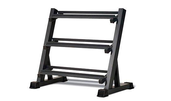 Marcy 3-Tier Dumbbell Rack Multilevel Weight Storage