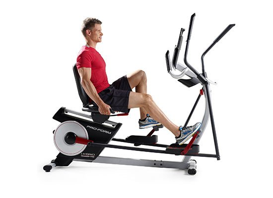 ProForm 2 in 1 Elliptical Bike