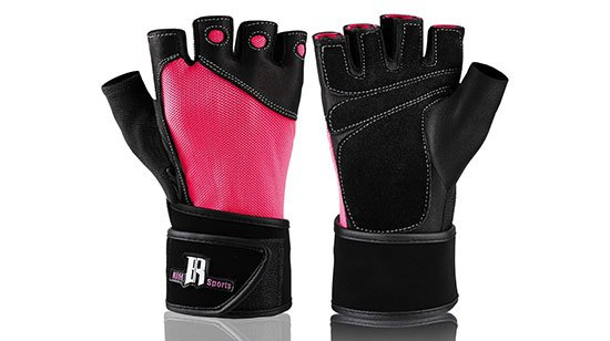 RIMPSports Premium Weightlifting Gloves