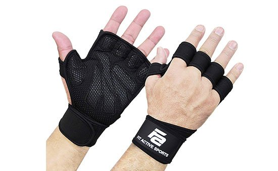 New Ventilated Weightlifting Gloves