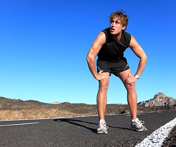 Man Working Out High Intensity Interval Training