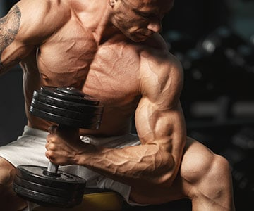 Muscle Man Training Smart Lifting Weights For Fitness