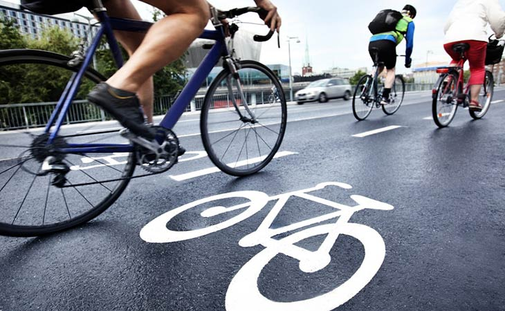 People Using Road Bike For Fitness