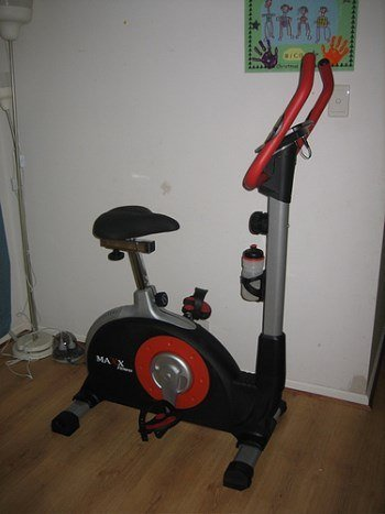 small exercise bike perfect for an HIIT bike routine